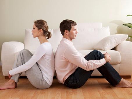 Sutuoktinių santykių krizė