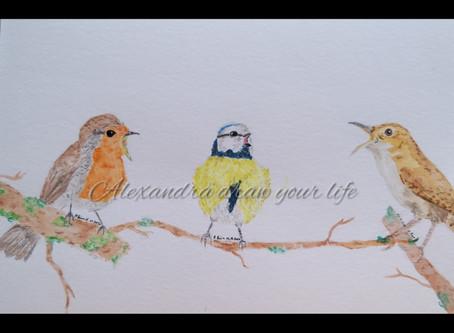 Sopranos' birds.