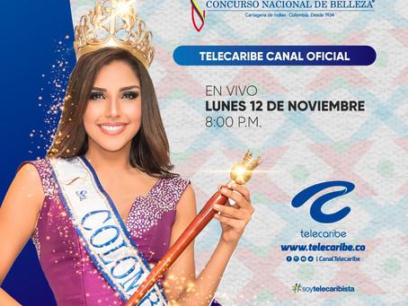 Comunicado 77: Telecaribe canal oficial del Concurso Nacional de Belleza 2018