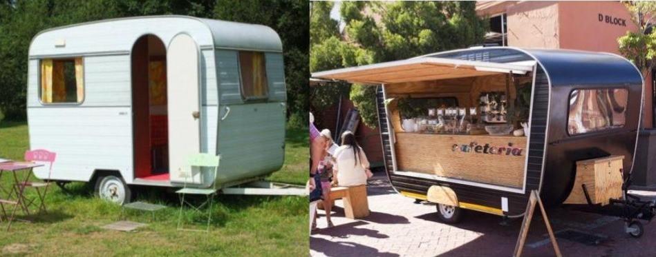 Types of vehicles used for food trucks - Caravan