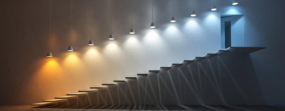 Iluminación de espacios
