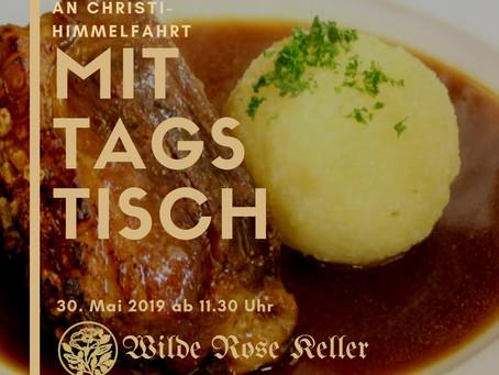 Mittagstisch an Christi-Himmelfahrt, 30. Mai 2019
