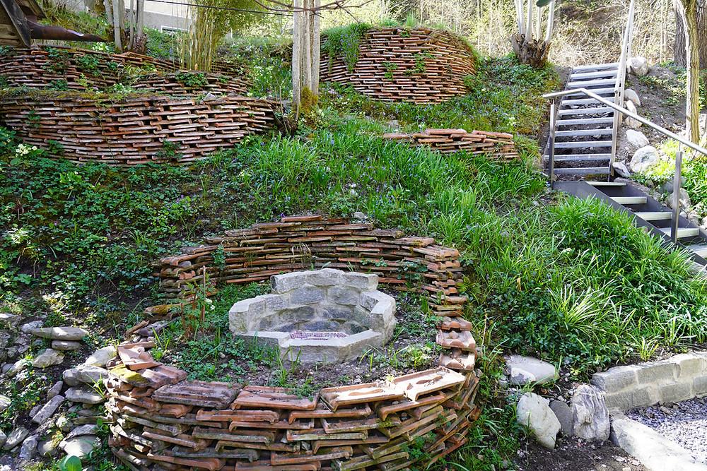 Hier heissen wir dich herzlich Willkommen in unserem Garten vom Spirituellen Zentrum Rheinschlucht