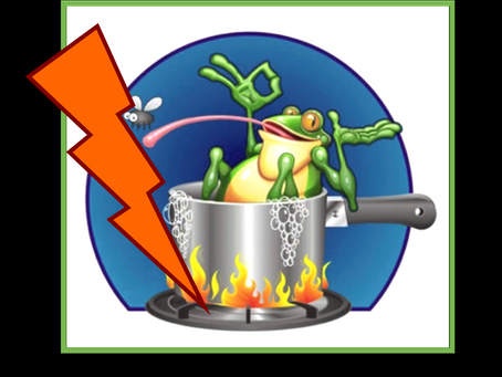 Flash Boiled Frogs™ in the Era of Exponential Change – Are You Feeling the Heat?