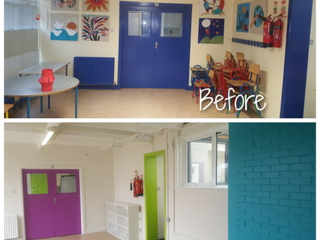 We've Had a Colourful Face Lift