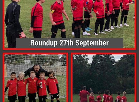 Roundup 27th September