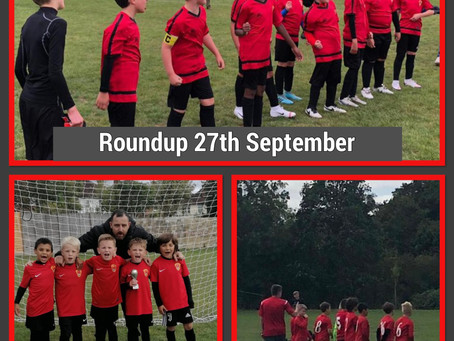 Roundup 27th September