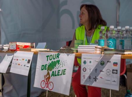 Podpora akce Tour de alej