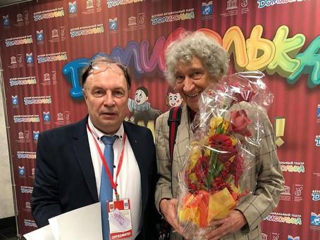 Юрий Энтин отмечает 85-летний юбилей.
