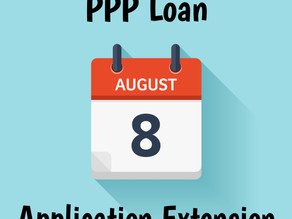 PPP Loan Application Extended