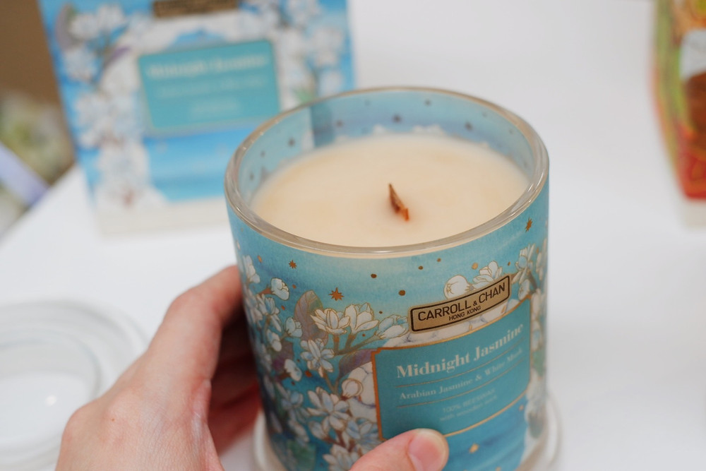 Carroll & Chan Midnight Jasmine Candle by mom, at last