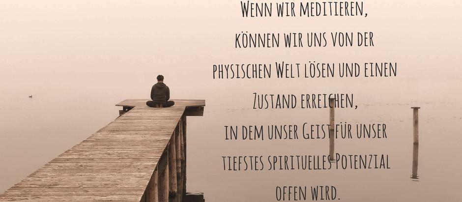 Meditation - was bringt mir das?
