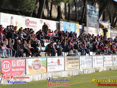 El Villarrobledo venció al Marchamalo con solvencia y sin grandes alardes