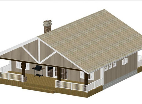 #Tiny Home House Plan-Cabin-CDCB-01