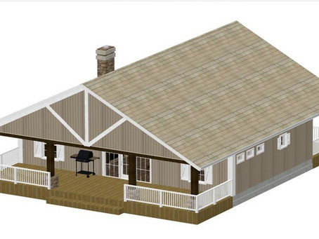 #Tiny Home House Plan-Cabin-CDCB-01