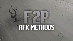Osrs F2p Afk Training