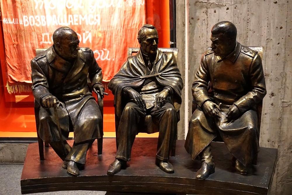 סטאלין רוזוולט וצ'רציל, מוזיאון קרב סטלינגרד, וולגוגרד