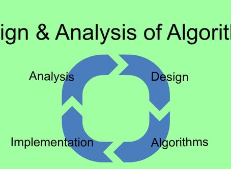 DAA : Design and Analysis of Algorithms