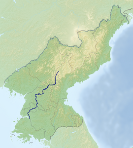Tracing the Taedong from Changjin to Nampo