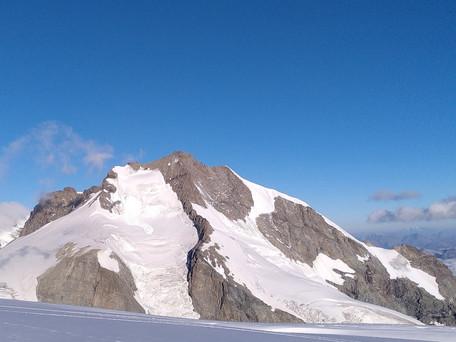 Piz Bernina über den Biancograt
