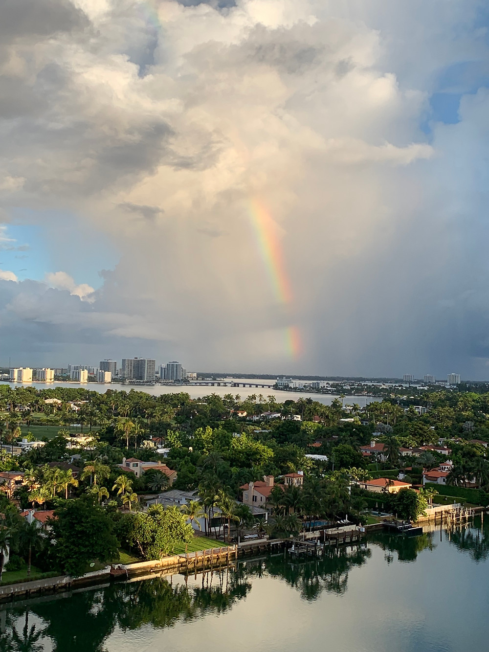 The S-Team celebrates the rainbow, a symbol of new beginnings, especially in real estate.