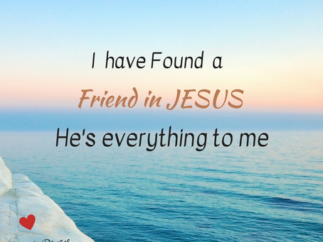 A Friend in Jesus