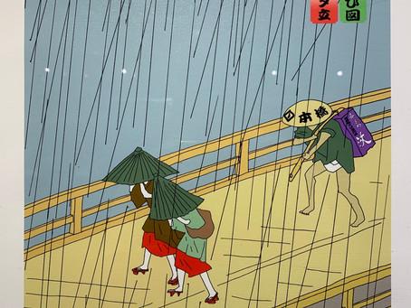 日本橋そばと夕立