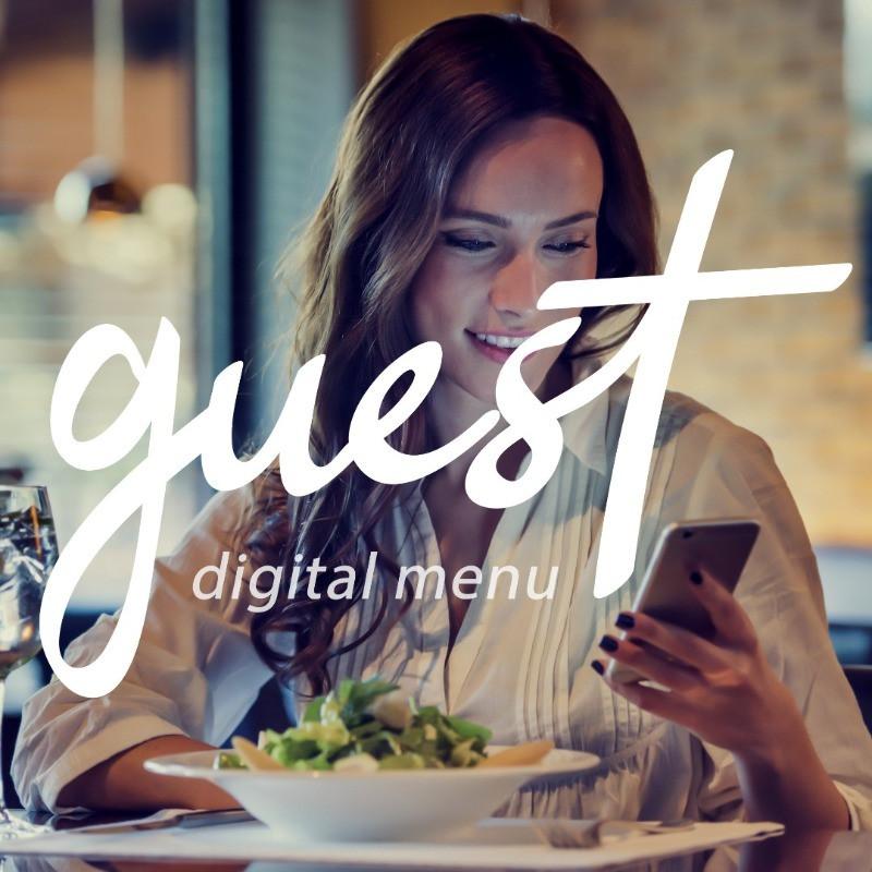QR code menu digital restaurant hotel bar