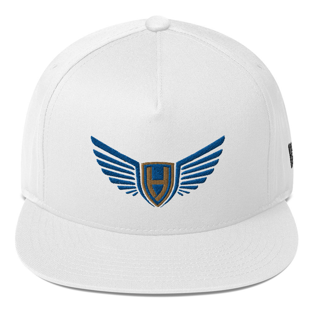 The trending flat bill cap for the fans who listen to all type of music