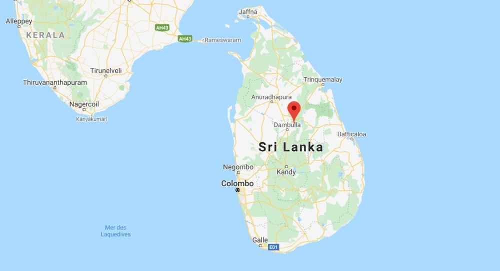 Sigîriya, Le Rocher du lion au Sri Lanka