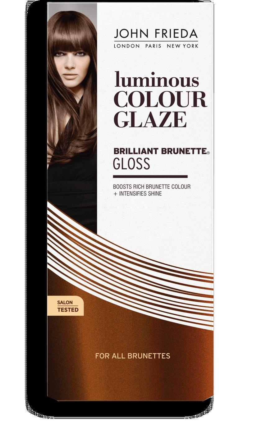 Brilliant Brunette Luminous Color Glaze by John Frieda