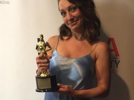 I won 'Best Actress' at LIIFE Festival
