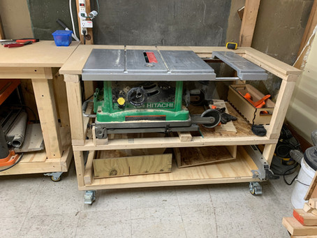 Updated Table Saw Bench
