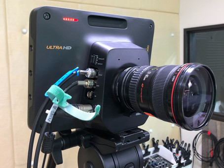 Blackmagic Studio Camera導入しました!
