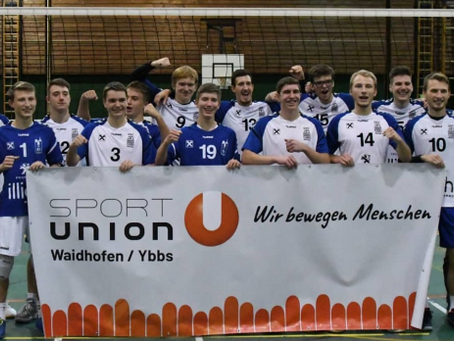 Waidhofen: Volleyball und Fußball im Hoch!