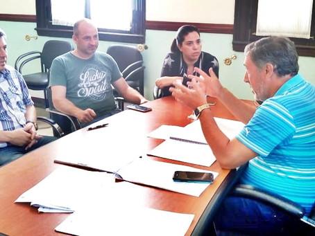 Fraticelli se reunió con los Presidentes de bloque