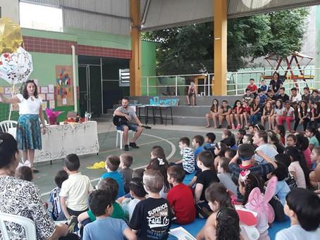 Momento Literário na Escola Camilo Alves em Esteio