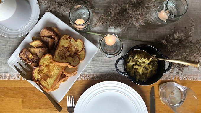 Brighten up Mom's Breakfast Setting: A Beginner's Guide to Table Setting