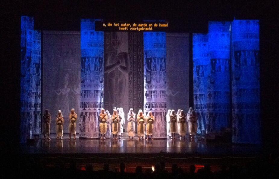 Aida in schouwburg Nijmegen