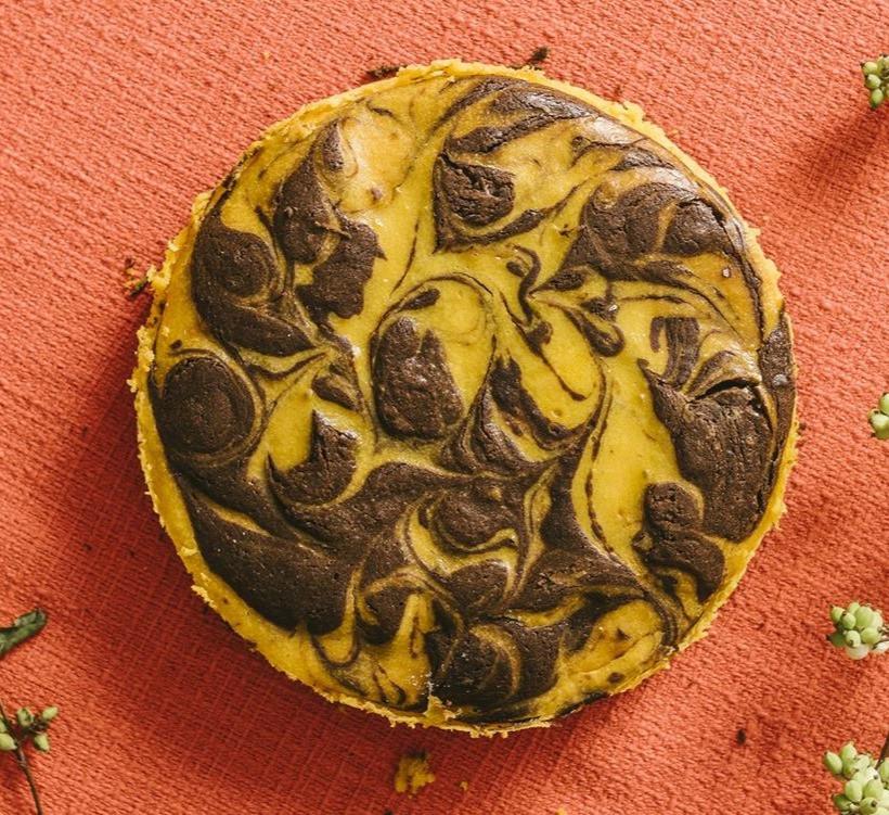 Moliūginis šokoladainis su sūriu, vmg receptas