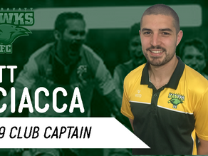 SCIACCA Returns for Season 2019