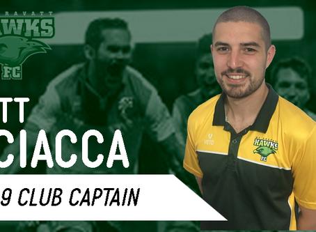 SCIACCA Returns for Season 2019