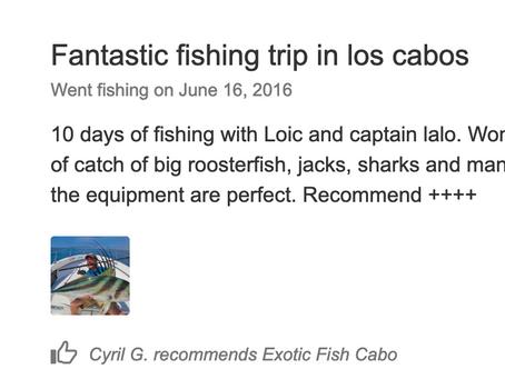 2016 June 16th Customer's review...
