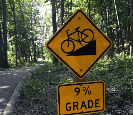 A lesson in expectations from biking the Heritage Trail