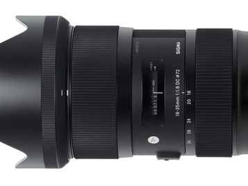 Sigma 18-35mm f1.8 ART