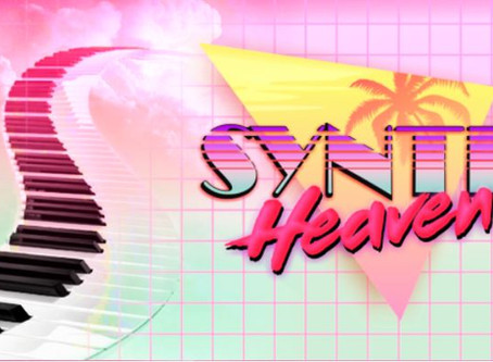 "Follow ""Synth Heaven"" for #retrowave music!"