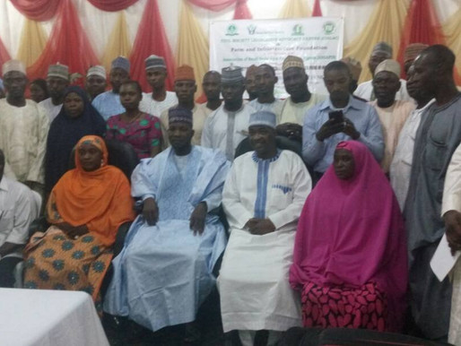 Right to food advocacy in Sokoto state