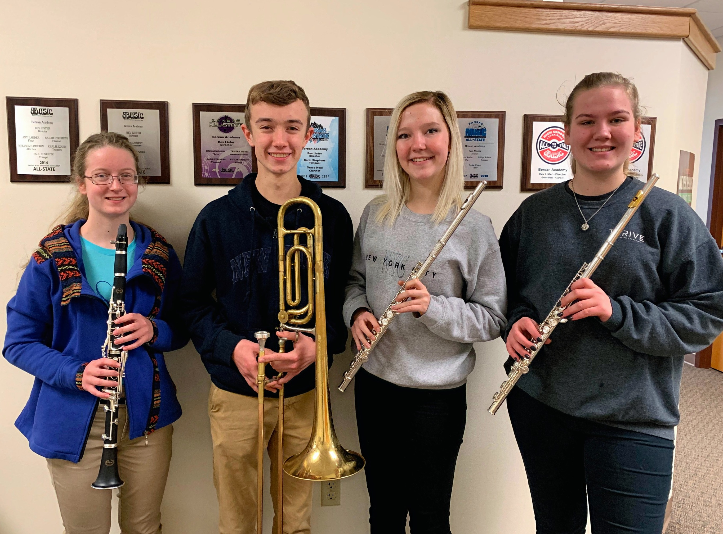 Berean Students Selected to State Band