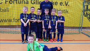 Ballbinis: G-Junioren Hallenturnier in Glienicke am 26.01.2020