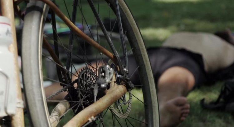 Tired Bikepacker